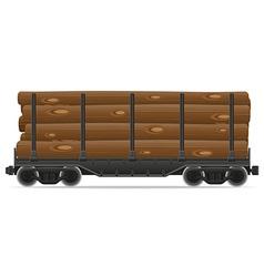 railway carriage 08a vector image vector image