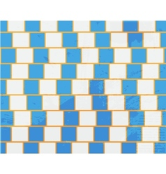 Abstract shape design concept Horizontal lines vector image vector image
