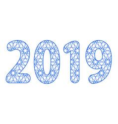 Abstract 2019 design vector