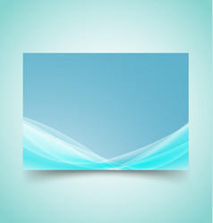 abstract waves set 3 vector image