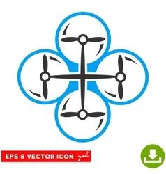Drone Screws Eps Icon vector