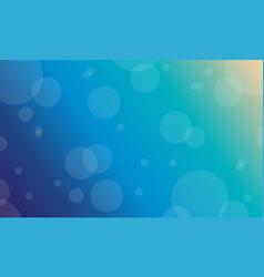 flat of blue light background vector image