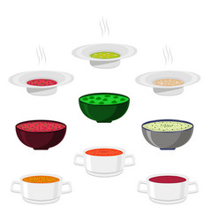 For hot ceramic bowl vector