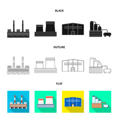 Isolated object production and structure symbol vector