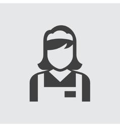 Maid icon vector image vector image