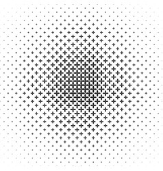 Monochrome geometrical pattern - background from vector