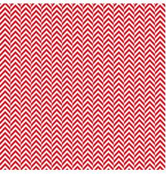 red white herringbone decorative pattern vector image