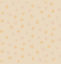 simple butterflies ditsy seamless pattern vector image