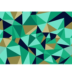 Trendy abstract geometric seamless pattern vector image