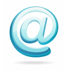 email sign vector image