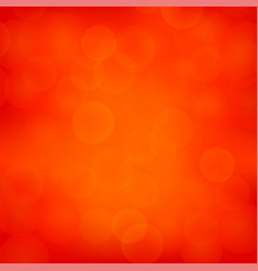 red blurred light background vector image vector image