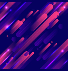 Abstract geometric rounded lines pattern motion vector