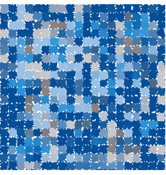 abstract pattern in shades of blue and gray vector image