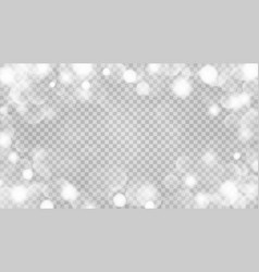abstract transparent bokeh background vector image