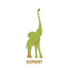 African elephant logo vector