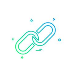 Attach icon design vector