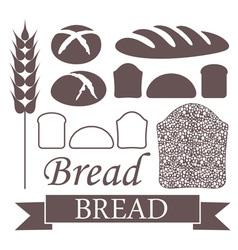Bread Loaf Icon vector