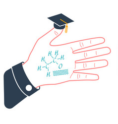 Funny concept of education vector