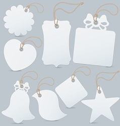 Set of label tag vector image