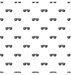 Sunglasses pattern vector