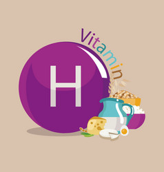 Vitamin h vector