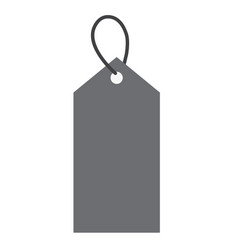 price tag icon on white background price tag vector image vector image