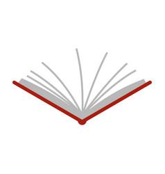 Open tutorial icon flat style vector