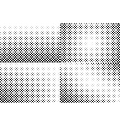 Huge dots halftone background Overlay vector image
