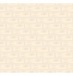 White bricks seamless texture vector