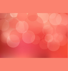 Abstract blur red colorful light bokeh defocused vector
