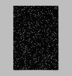 Abstract dot pattern brochure template vector