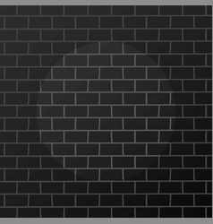 Black brick with spotlight theme background art vector