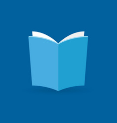 book flat icon or design element vector image