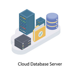 Cloud database server vector
