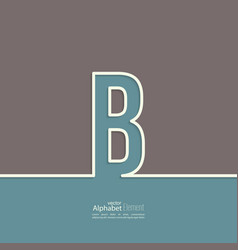 Letter of the alphabet vector