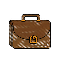 Portfolio object bag vector
