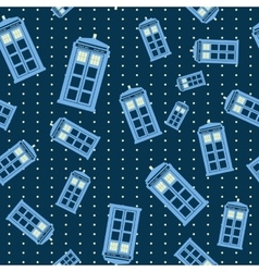 Seamless pattern of british vector