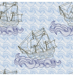 Ship pattern vector