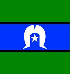 Torres strait islander flag vector