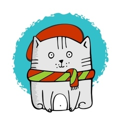 Cute Little Kitty vector image vector image