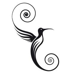 Humming bird vector image