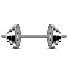 object dumbbell vector image