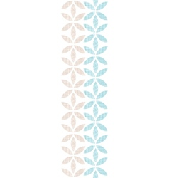 Abstract textile leaves stripes vertical seamless vector