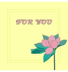 Element for you design - collection of pink vector image vector image