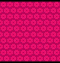pink flora pattern background vector image