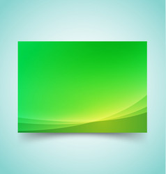abstract waves set 4 vector image