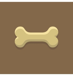 Dog Bone Cookie vector image
