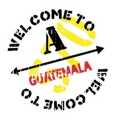 Guatemala stamp rubber grunge vector