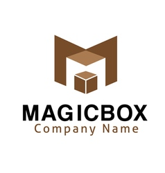 Magic Box Design vector