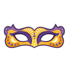 Mask mardi gras vector